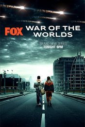 Cartel de La guerra de los mundos