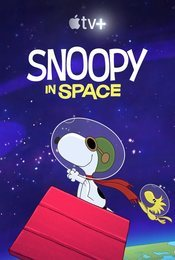 Cartel de Snoopy in Space