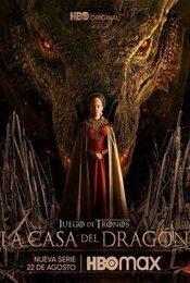 Cartel de La casa del dragón