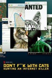 Cartel de A los gatos, ni tocarlos: Un asesino en Internet