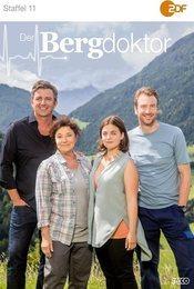 Cartel de Doctor en los Alpes