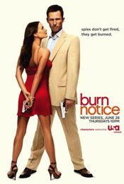 Cartel de Burn notice