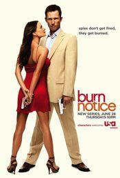 Cartel de Burn notice