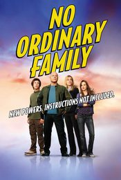 Cartel de No Ordinary Family