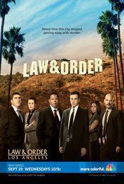 Cartel de Law and Order: Los Angeles