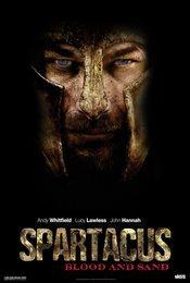 Cartel de Spartacus: Sangre y Arena