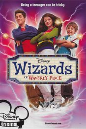 Cartel de Los magos de Waverly Place