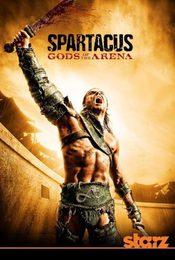 Cartel de Spartacus: Dioses de la Arena