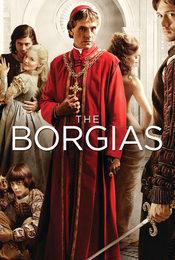 Cartel de The Borgias