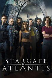 Cartel de Stargate Atlantis