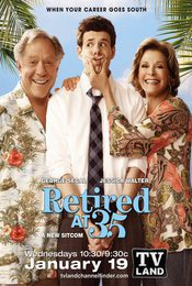 Cartel de Retired at 35