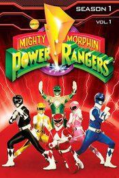 Cartel de Power Rangers
