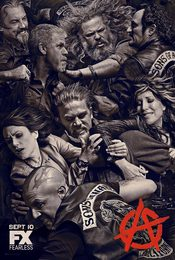 Cartel de Sons of Anarchy