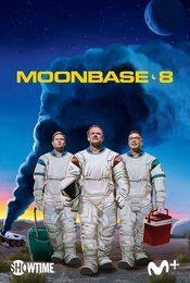 Cartel de Moonbase 8