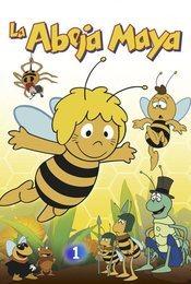 Cartel de La abeja Maya