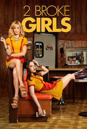 Cartel de 2 Broke Girls