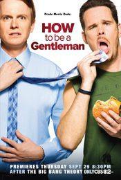 Cartel de How to Be a Gentleman