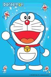 Cartel de Doraemon, el gato cósmico