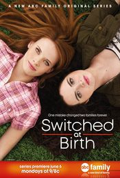 Cartel de Switched at Birth