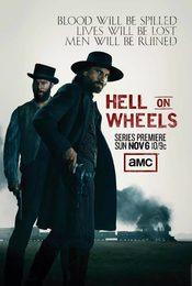 Cartel de Hell on Wheels