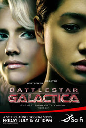 Cartel de Battlestar Galactica