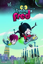 Cartel de Lucky Fred