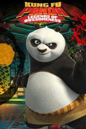 Cartel de Kung Fu Panda: La leyenda de Po