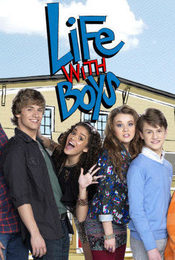 Cartel de Life with Boys