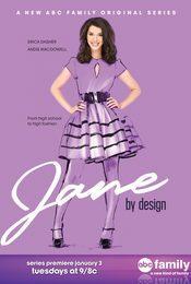 Cartel de Diseñando a Jane