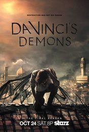 Cartel de Da Vinci's Demons