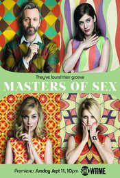 Cartel de Masters of Sex