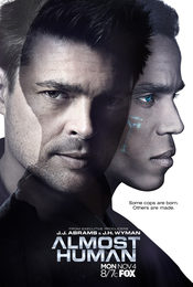 Cartel de Almost Human