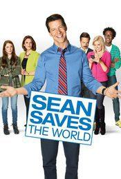 Cartel de Sean Saves the World