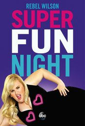 Cartel de Super Fun Night