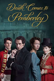 Cartel de Death Comes to Pemberley