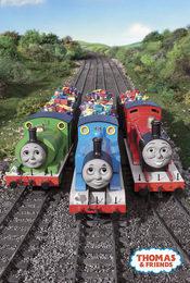 Cartel de Thomas y sus amigos