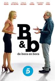 Cartel de B&b, de boca en boca