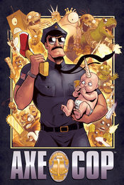 Cartel de Axe Cop