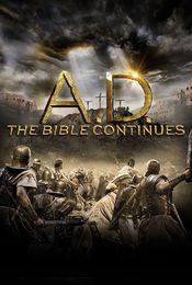 Cartel de A.D. La biblia continúa