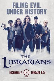 Cartel de The Librarians