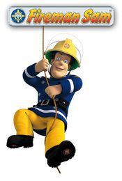 Cartel de Sam, el bombero