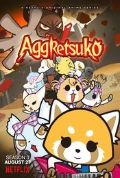 Cartel de Aggretsuko