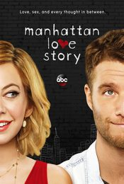 Cartel de Manhattan Love Story