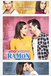 Cartel de Enamorándome de Ramón