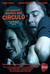 Cartel de El asesino dentro del círculo