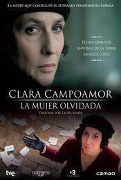 Cartel de Clara Campoamor. La mujer olvidada
