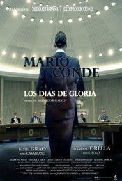 Cartel de Mario Conde. Los días de gloria