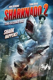 Cartel de Sharknado 2: The Second One
