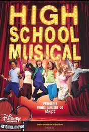 Cartel de High School Musical