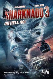 Cartel de Sharknado 3